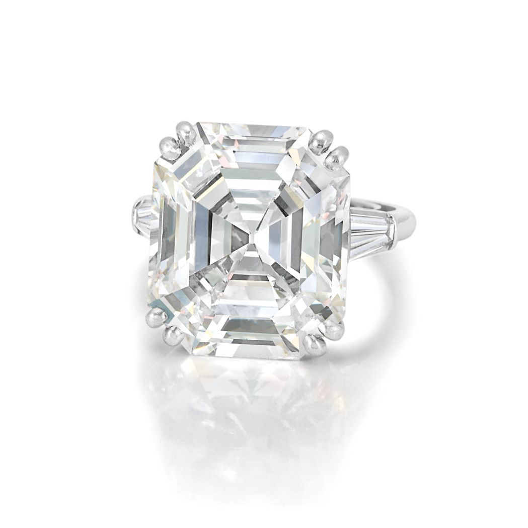 17 Best Images About Emerald Cut Engagement Rings On Pinterest
