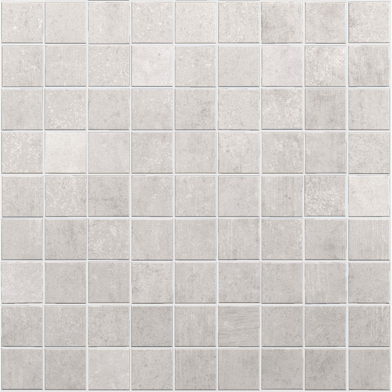 Des Sols Et Des Murs Avis mosaïque sol et mur new york blanc 5 x 5 cm | sol et mur