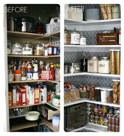 Charmant Simple Kitchen Organization Ideas That Will Keep You Clean And Clutter Free,  From The Pantry