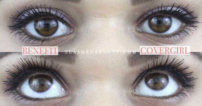 970b77fd77c Benefit Roller Lash Mascara VS Maybelline Lash Sensational on  alicered.co.uk | Makeup | Mascara, Makeup, Makeup dupes