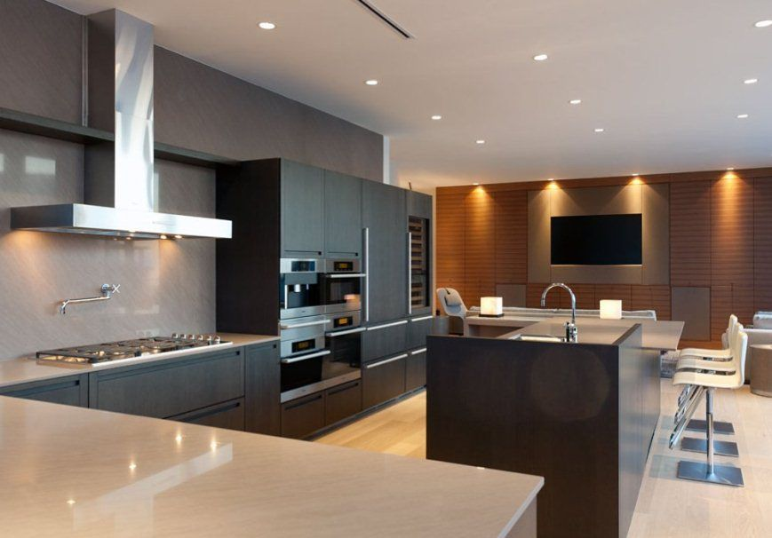 Modern Luxury Kitchen Interior Designs Pictures Home Interior Design