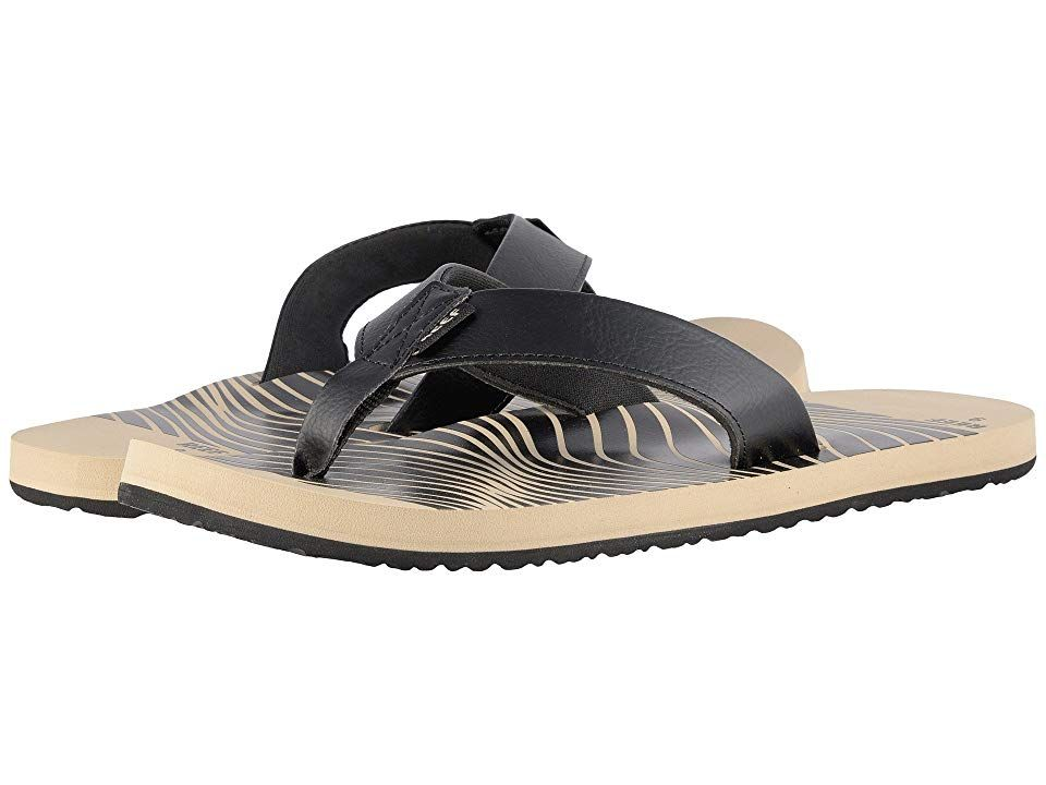 ad51bfc24 Reef Twinpin Prints (Khaki) Men s Sandals. Everyone knows that the good  times begin
