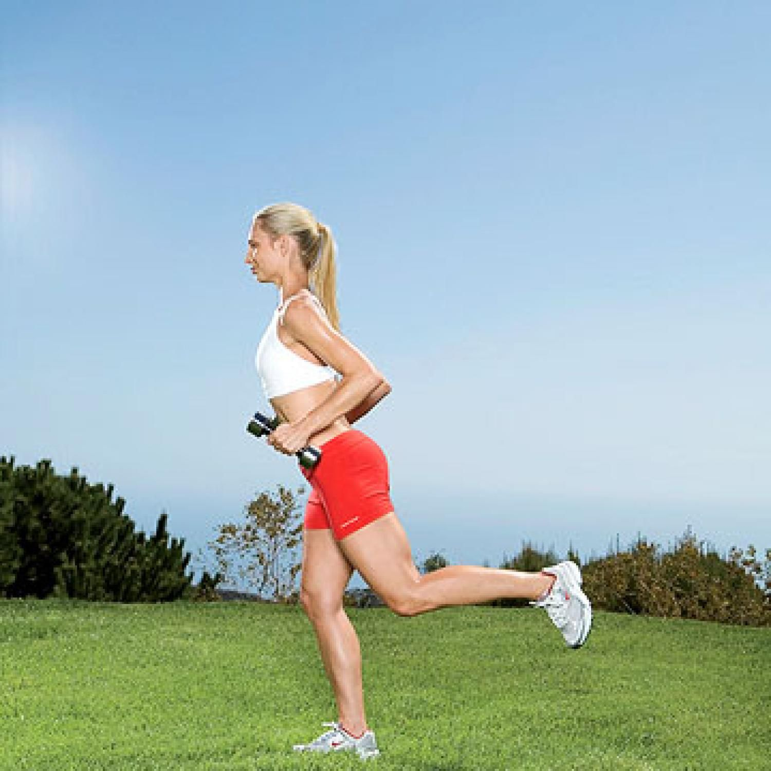 Hamstring Curl with Triceps Extension - Fitnessmagazine.com