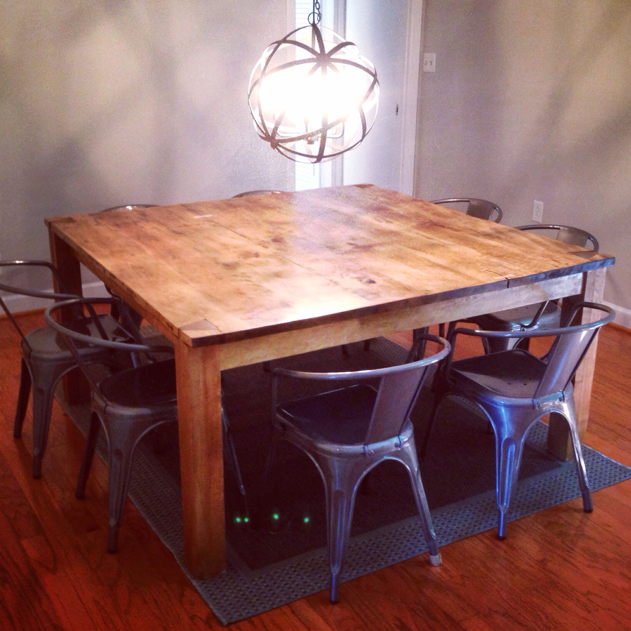 Solid Maple Dining Table With Through Dovetailed Legsbutterfly Captivating Maple Dining Room Table Review