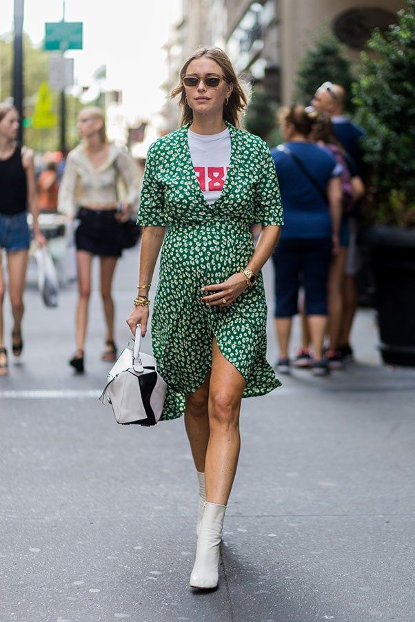 5e8c44bcb3 The Best Street Style from New York Fashion Week Day 4