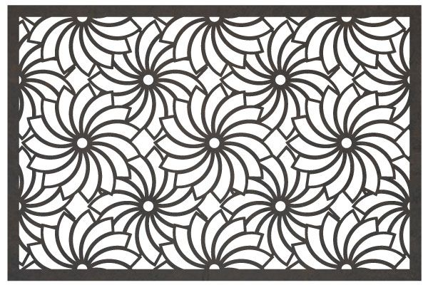 Ventana screen cut from metal with cnc this dxf file is designed for cnc plasma laser or - Dessin dxf gratuit ...