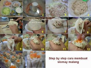 Step By Step Membuat Bakso Malang Resep Bakso Pangsit