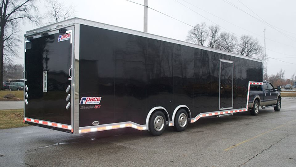 pace american cargo enclosed gooseneck trailer Shadow GT