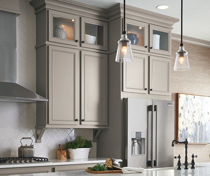 Best Ahh The Comfort Of A Warm Stone Gray Kitchen The 400 x 300