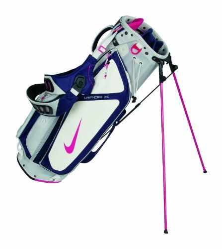 Nike Golf Vapor X Carry Stand Bag Sail Pink Force Blackened Blue