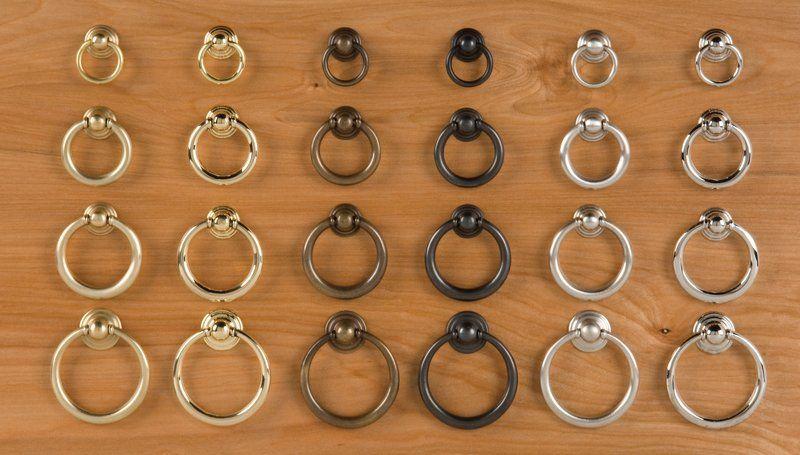 Ring Pulls Brass Ring Drawer Pulls Ring Cabinet Hardware Pulls Horton Brasses Inc Drawer Pulls Cabinet Hardware Pulls Beach Cottage Kitchen Ring pull cabinet hardware