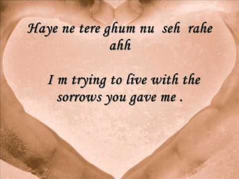 Kaleya Reh Gaye Ahh Alone Wid Lyrics English Translation