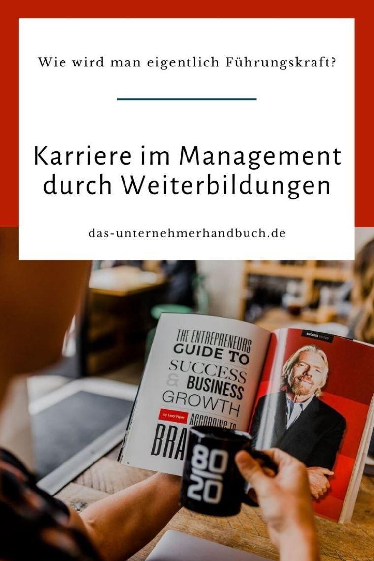 Wie wird man eigentlich Manager? Neben dem klassischen Studium gibt es eine Reihe von Weiterbildungen, die helfen die Karriereleiter zu erklimmen.  #Führungskräfteentwicklung, #Management, #Manager, #Weiterbildung