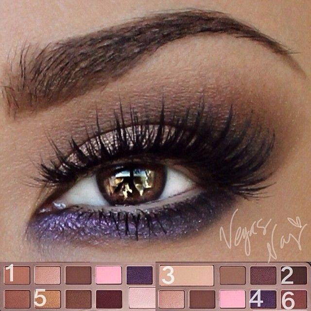 .@vegas_nay | ..here are the color placements of the @Sarah Long Faced Cosmetics Chocolate Bar Eye Palette to... | Webstagram