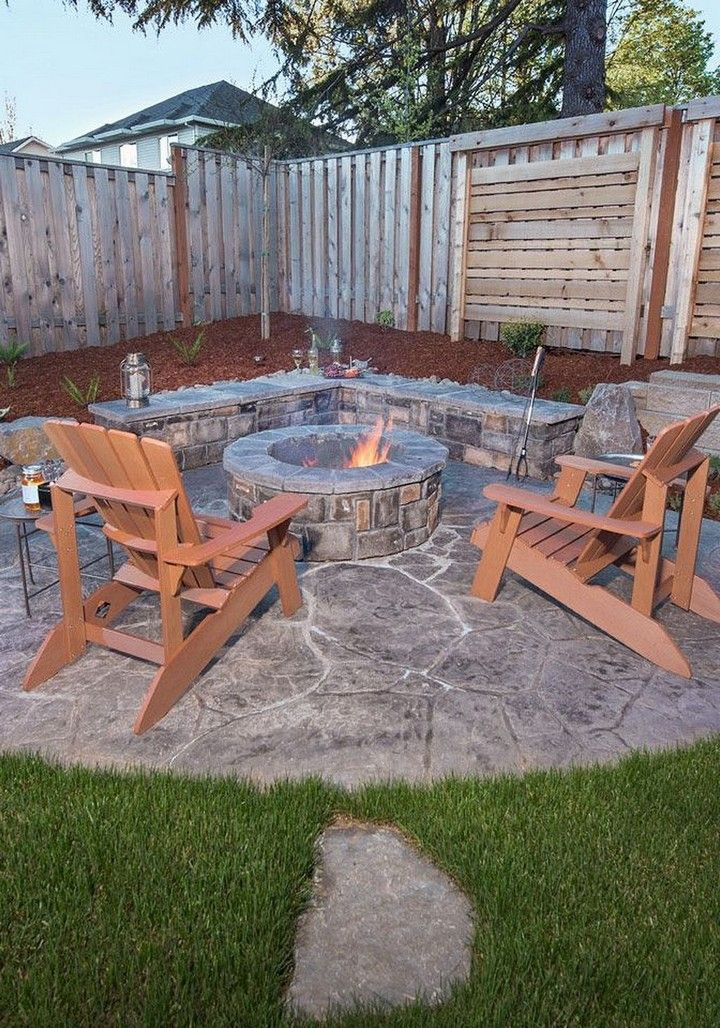 Can you imagine creating such an incredible DIY fire pit ...