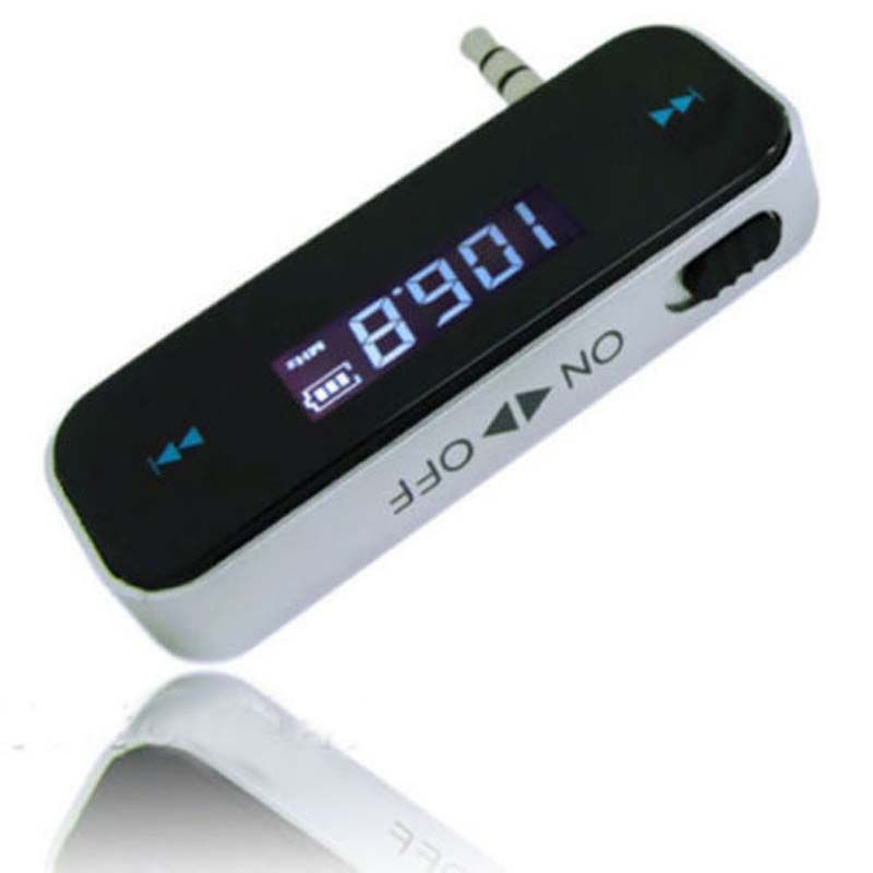 Mini Wireless Transmitter 3.5mm Incar Music Audio FM