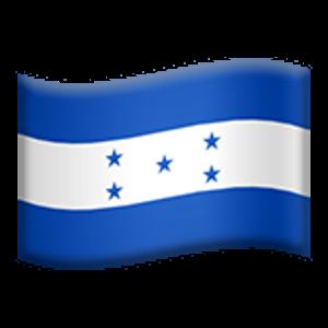 Flag Of Honduras Honduras Flag Emoji Flag