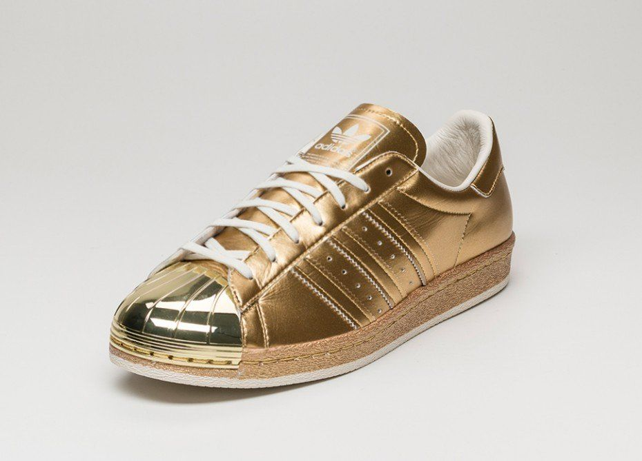 adidas Superstar 80s *Metallic pack* (Gold Metallic / Gold Metallic / Off  White