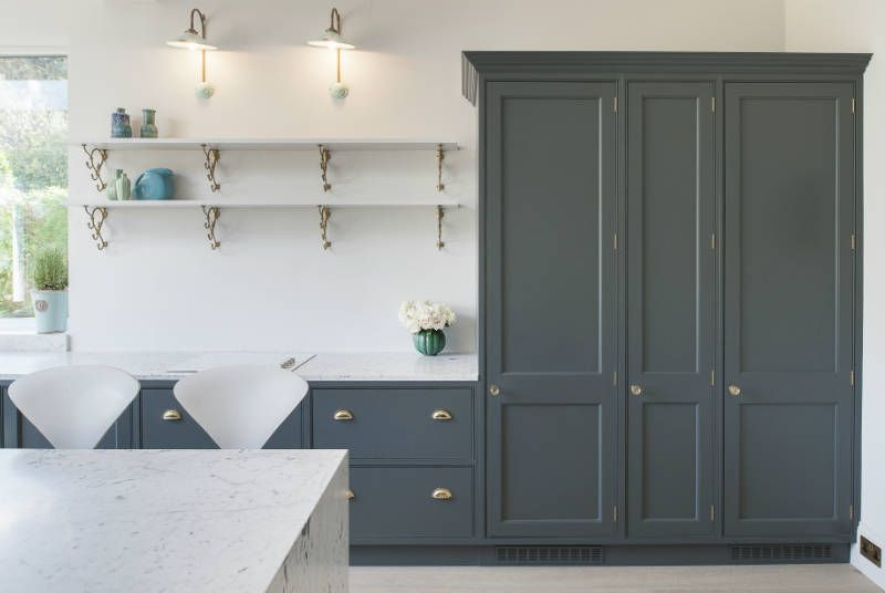Best Woodwork Kitchens Of Southborough Hand Painted In Farrow 400 x 300