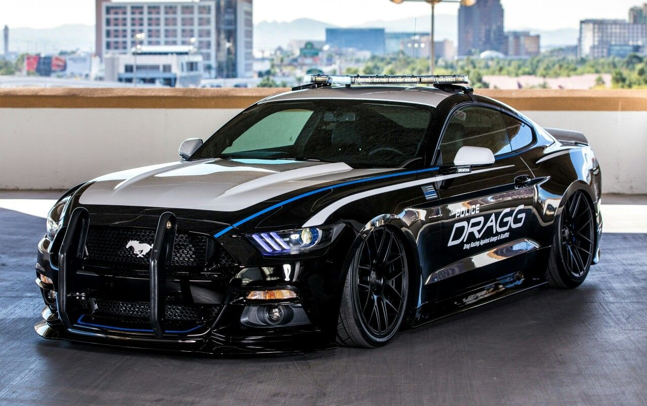Ford Mustang Police Car Ford Mustang