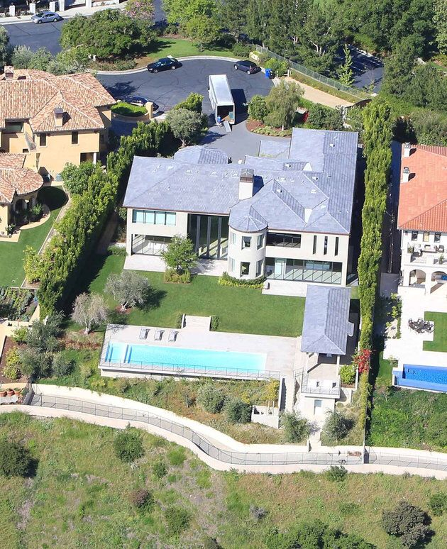 Kim Kanye Home Mansions Kim House Kris Jenner House