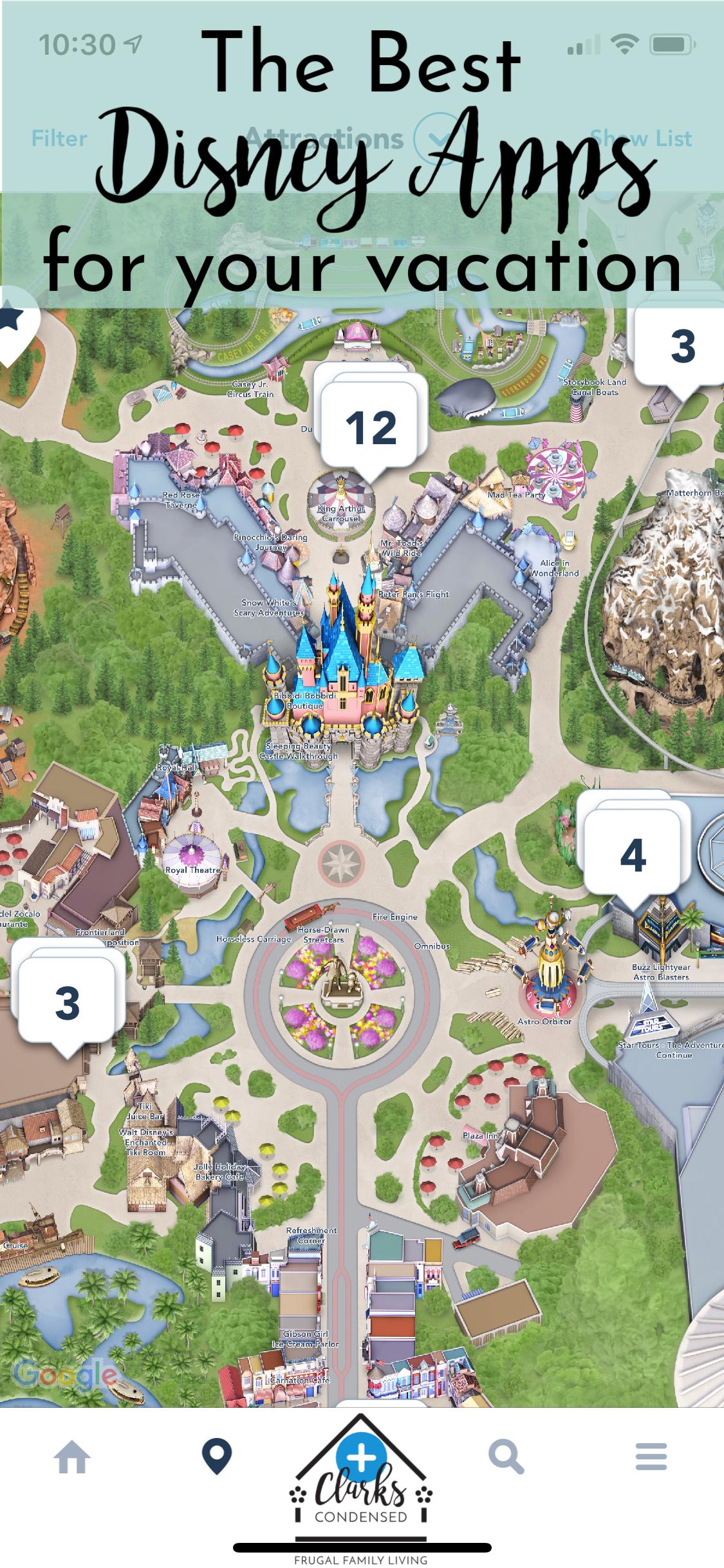 Best Apps for Disney World and Disneyland | Disney world ... Disneyland Map App on disney world map app, disneyland street map, six flags map app,