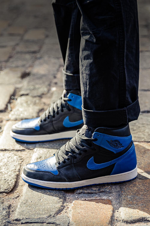 2017 Nike Air Jordan 1 Nike Retro High Og Royal Blue Air Jordan 1 Retro High Og 2017 Royal 555088 007 In 2020 Air Jordans Jordans Outfit For Men Air Jordans Retro