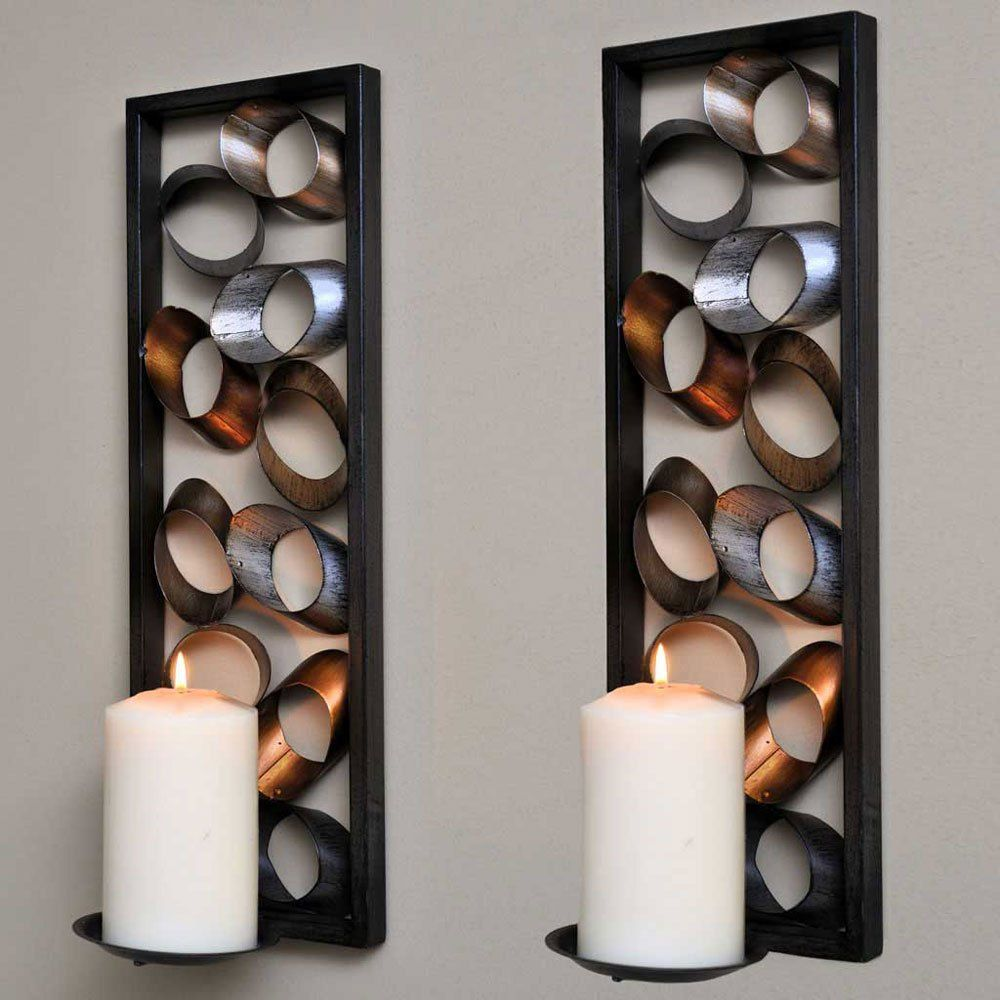 67 Wall Sconces With Candles   Wall candle holders, Candle ... on Vintage Wall Sconce Candle Holder Decorating Ideas id=20016