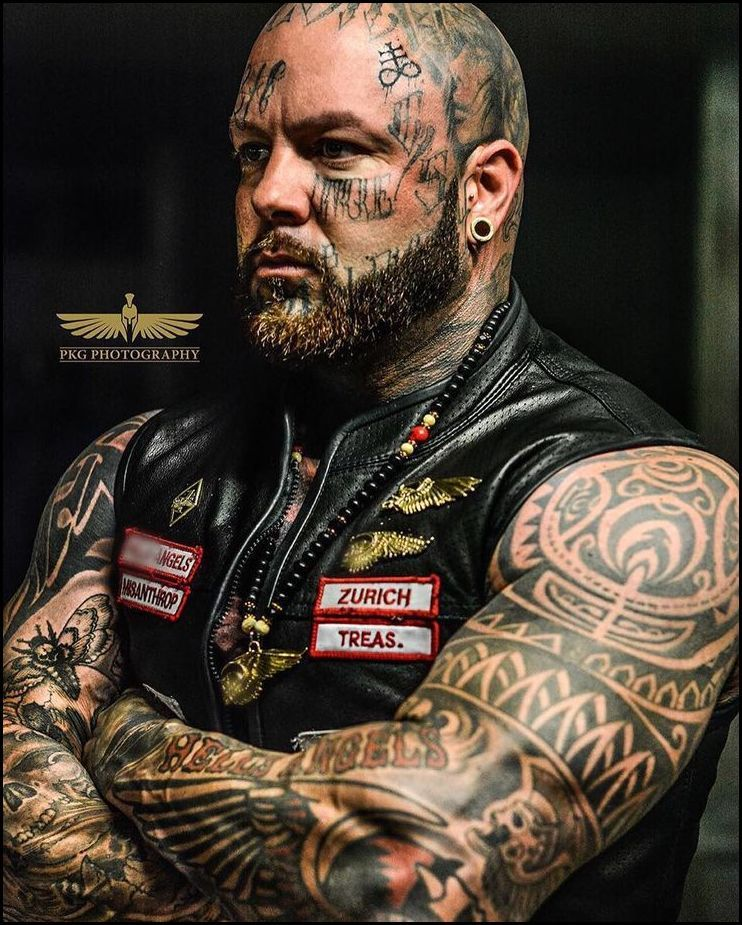The owner of hells angels tattoo shop storytattoo themes for Hells angels tattoos pics