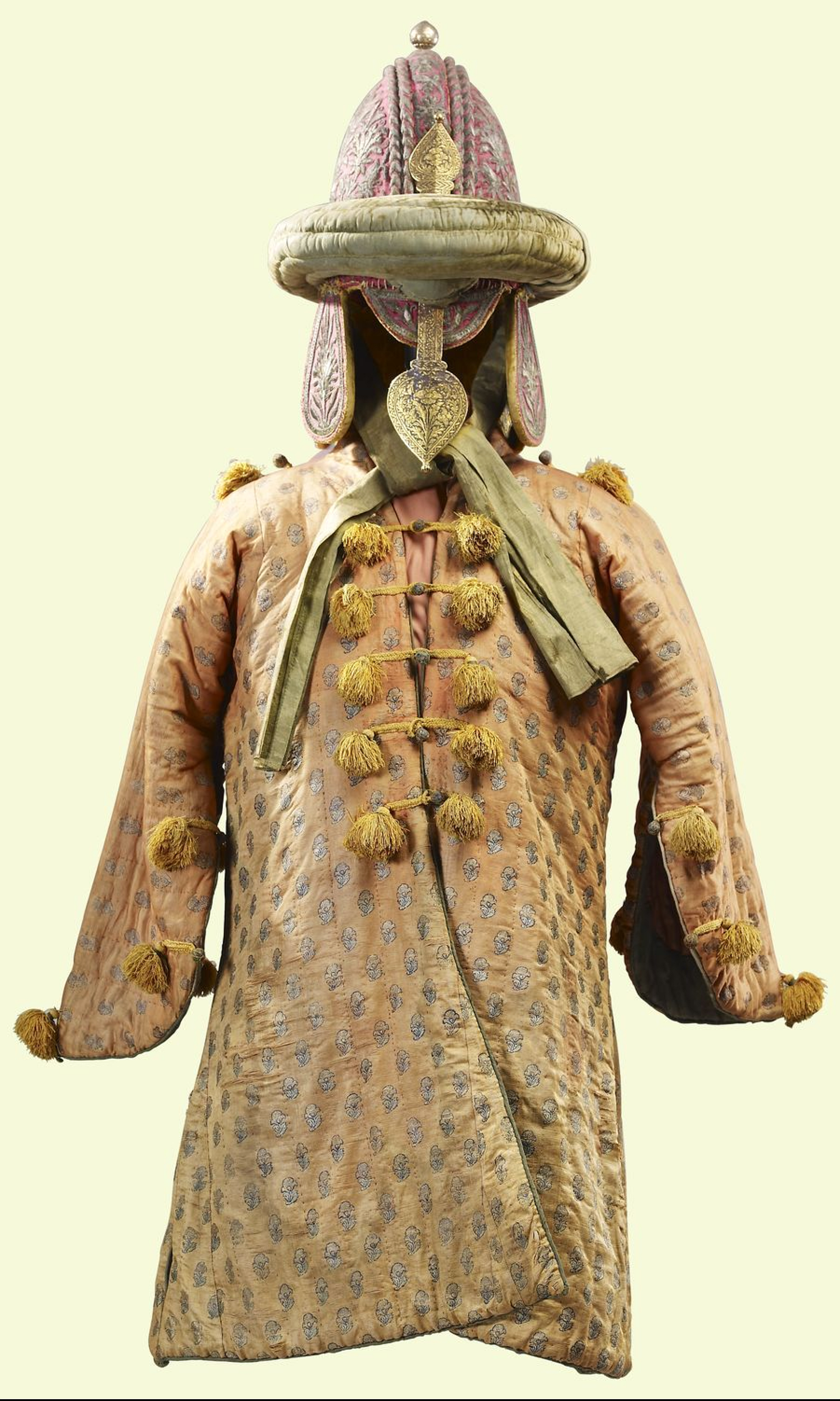Indian (Mysore) peti (quilted armor), c.1790, belonging to Tipu Sultan (The  Tiger of Mysore), looted by British forces from his palace/fortress ...