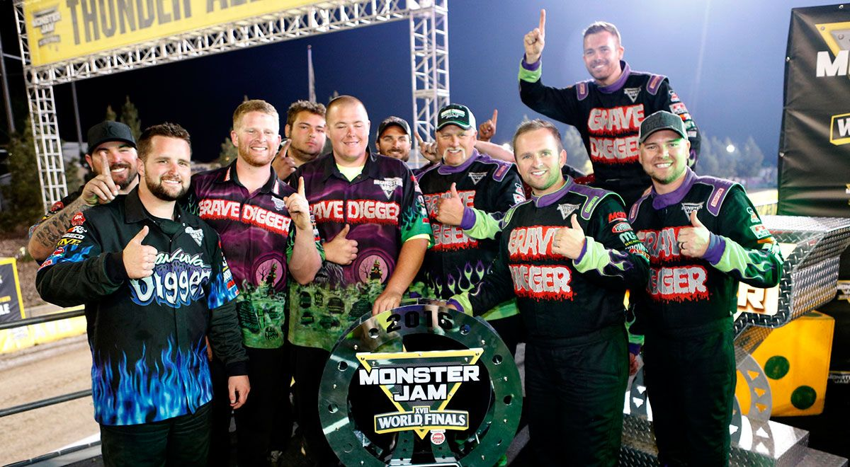 Image result for monster truck pit crew