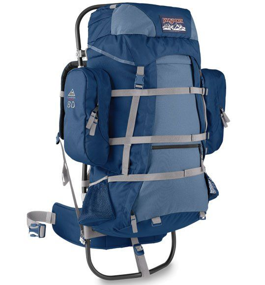 internal vs external frame backpack jansport