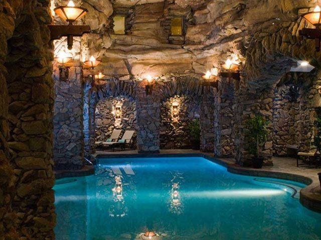 Grottos Aquatime Pools Indoor Pool Ideas Indoor
