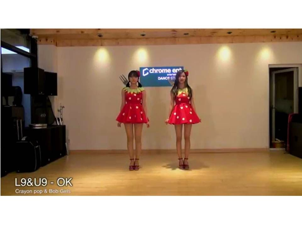 Crayon Pop's Ellin and Bob Girls' Yujeong cover Strawberry Milk's 'OK'