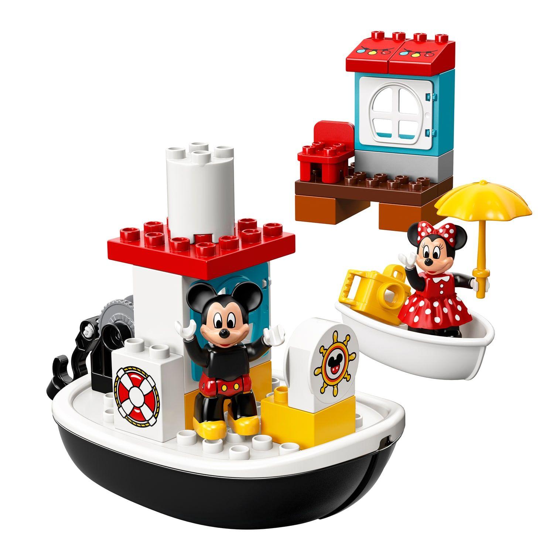 Disney S Mickey Mouse Lego Duplo Mickey S Boat Set 10881 Mouse Lego Disney Mickey Lego Duplo Duplo Lego