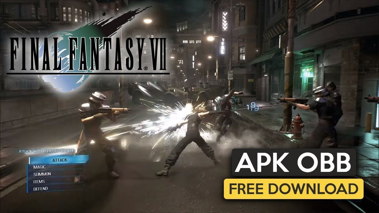 Final fantasy vii apk obb for android free download 2019