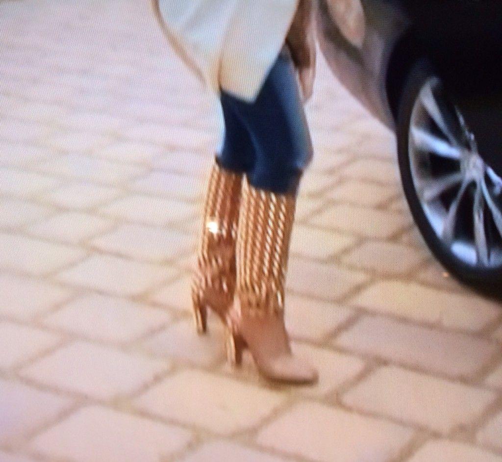 Dina Manzo's Tan Studded Boots | Big Blonde Hair : Big Blonde Hair http://www.bigblondehair.com/real-housewives/rhonj/dina-manzos-tan-studded-boots/