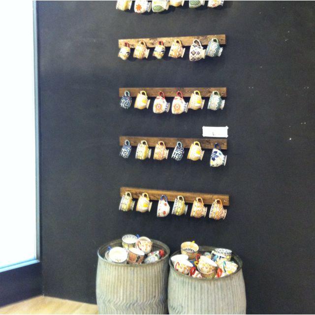 Coffee Cup Display Ideas Mug Storage