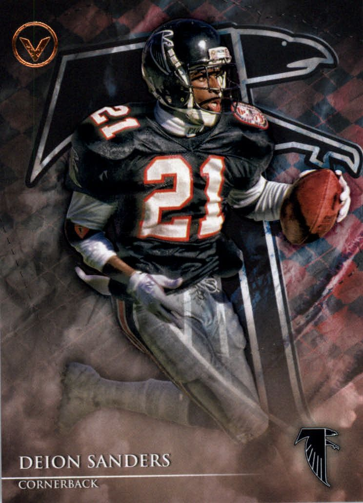 2014 Topps Valor 32 Deion Sanders Atlanta Falcons Football Falcons Football Nfl Football Art