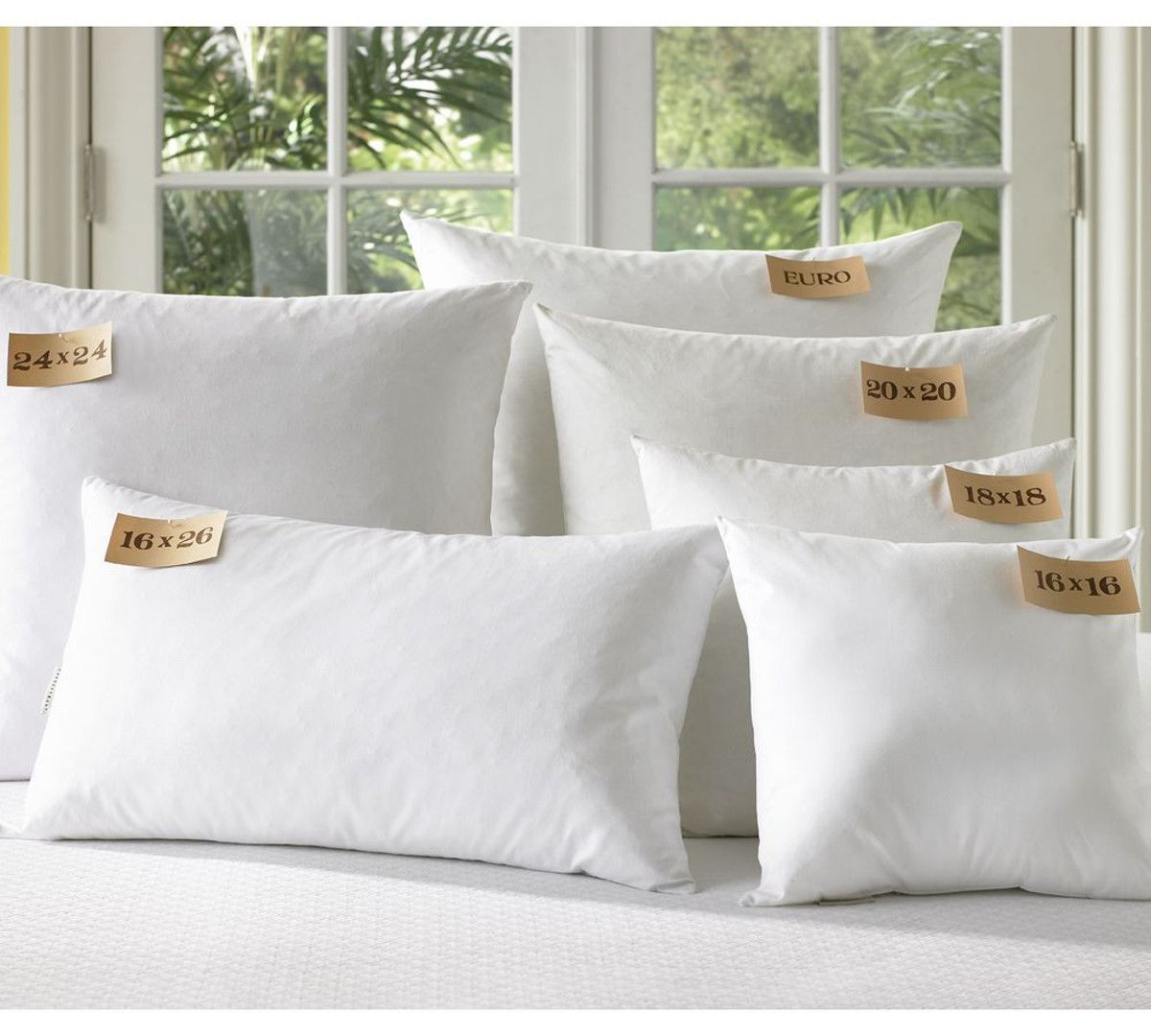 Pottery Barn Pillow Inserts Entrancing Featherdown Blend Pillow & Cushion Inserts  Pottery Barn Au Decorating Design