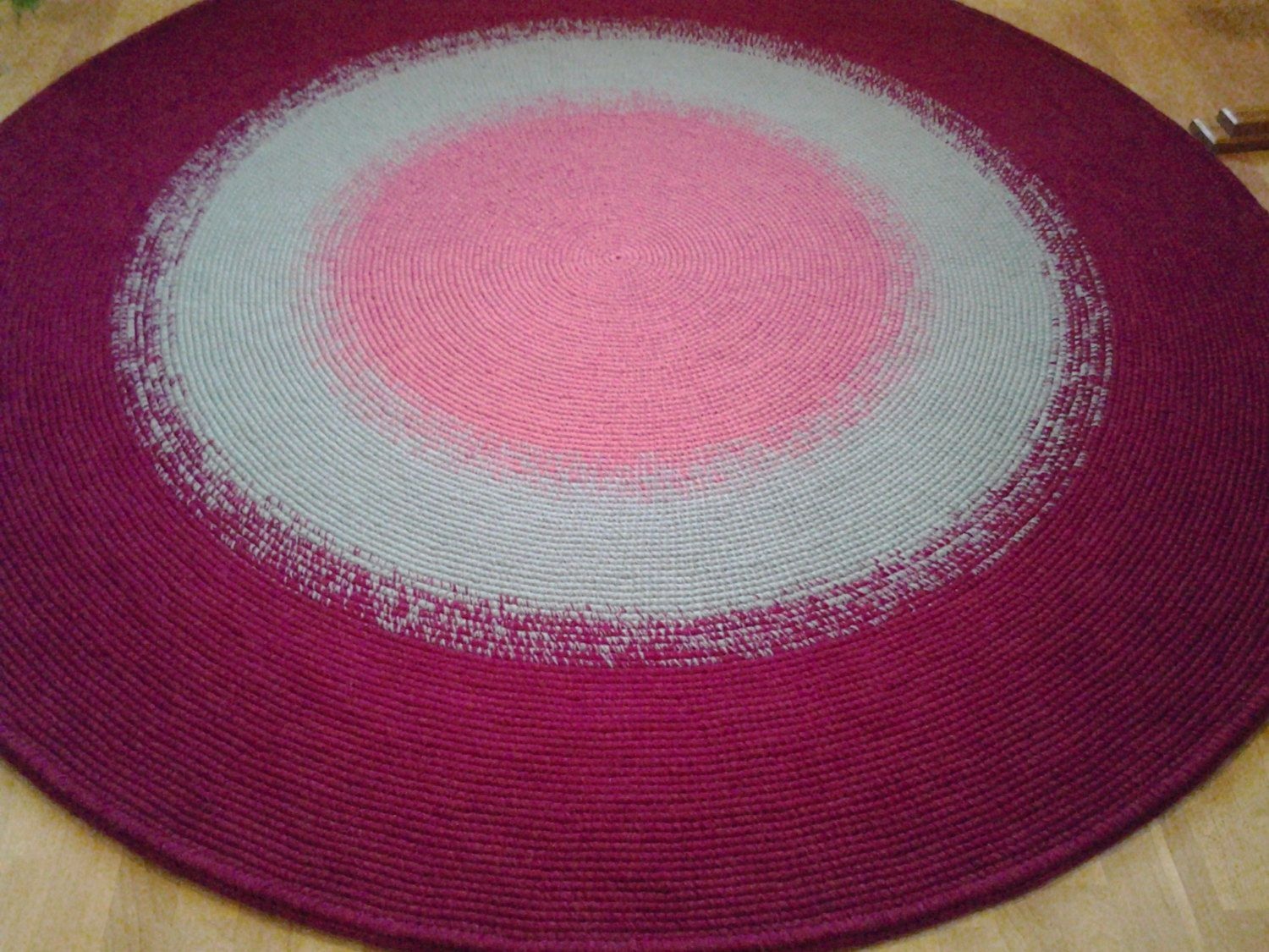 Round rug/80,7'' (205 cm)/Rugs/Rug/Area Rugs/Floor Rugs/Large Rugs/Handmade Rug/Carpet/Wool Rug by AnuszkaDesign on Etsy