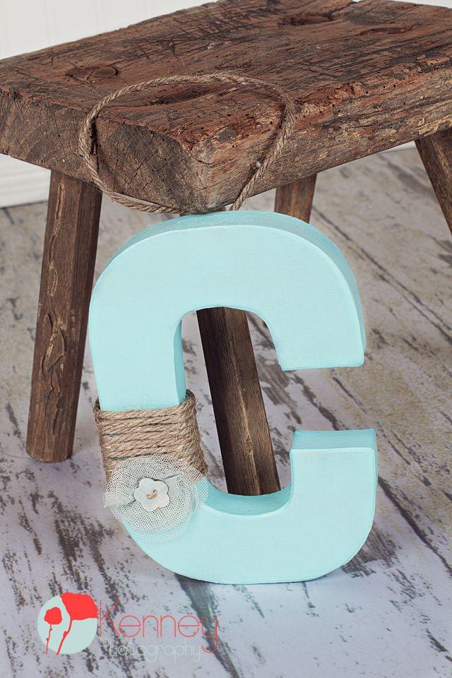 Homemade Letter C Door Hanger Letter Door Hangers Christmas Projects Diy Decorative Letters