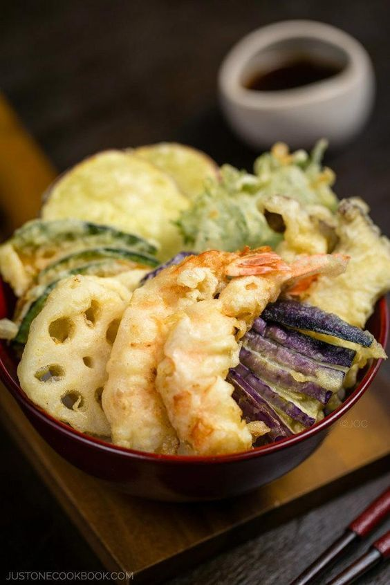 Tempura Donburi | Easy Japanese Recipes at JustOneCookbook.com