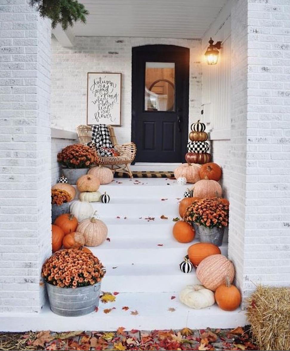 Pin by Emma Novak on Future Home - Outside  Fall decorations