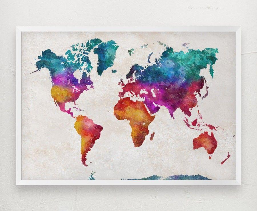 world map digital a1 httpifttt2iyvdty