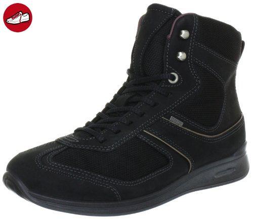 Ecco MOBILE II 202643, Damen Bootschuhe, Schwarz (Black Black  Nubukleder  53994 7ed3aaf4c1
