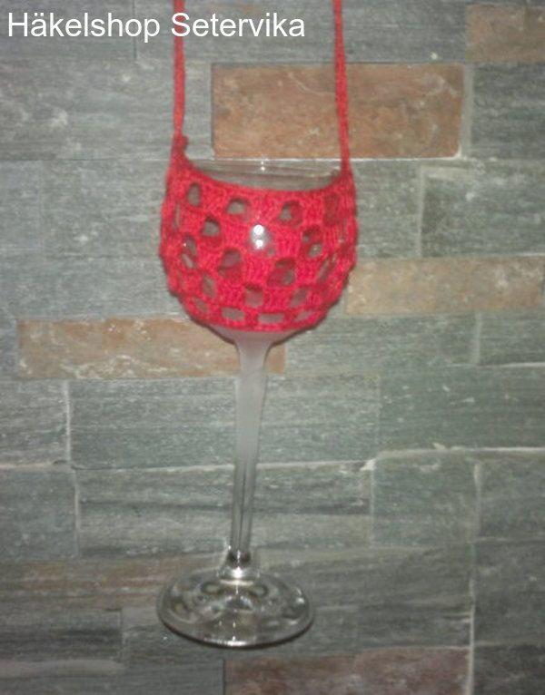 Weinglas Halter,Halskette,häkeln,Wine Glass Holder,Party Geschenk ...