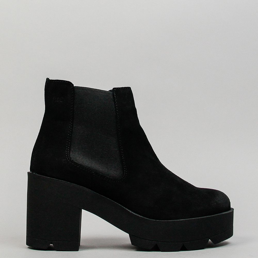Zapatos negros casual Musse & Cloud para mujer