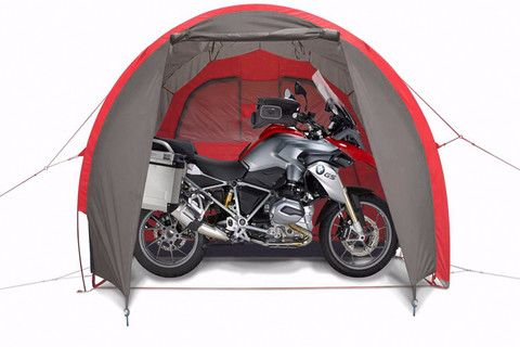 The MOTOTENT is a top of the line motorcycle tent built by riders for riders. It has the strength and durability to handle the roughest environments.  sc 1 st  Pinterest & Motorcycle tent MotoTent v2 with BMW R 1200 GS Adventure ...