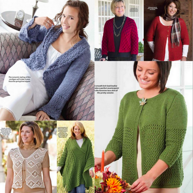 Crochet World Bonus Patterns Torso Accessories http
